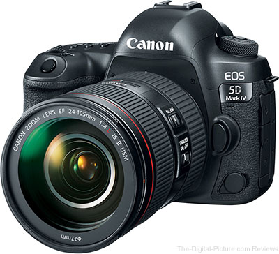 Updated: Canon EOS 5D Mark IV Expectations
