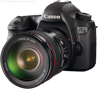 Canon EOS 6D w/ EF 24-105L IS (Open Box) - $  1,679.00 Shipped (Compare at $  1,999.00 New)