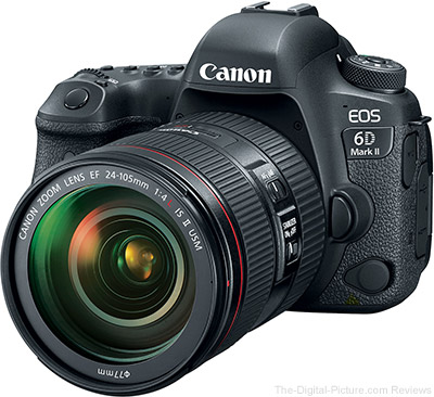 Canon EOS 6D Mark II DSLR Camera