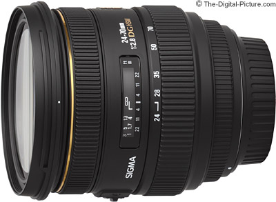 Today Only: Sigma 24-70mm f/2.8 IF EX DG HSM Lens - $  599.00 Shipped (Compare at $  749.00)