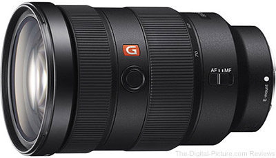 First Looks at Sony FE 24-70mm f/2.8 GM Lens Image Quality