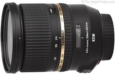 Tamron SP 24-70mm f/2.8 Di VC USD Lens