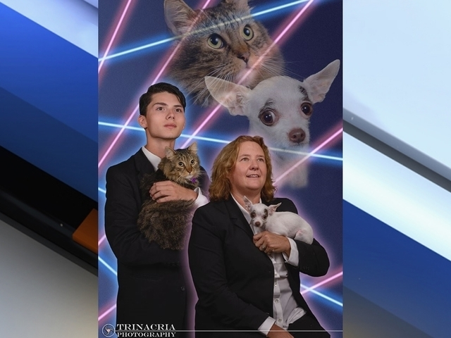 NY School Principal Joins Laser Cat Teen For Yearbook