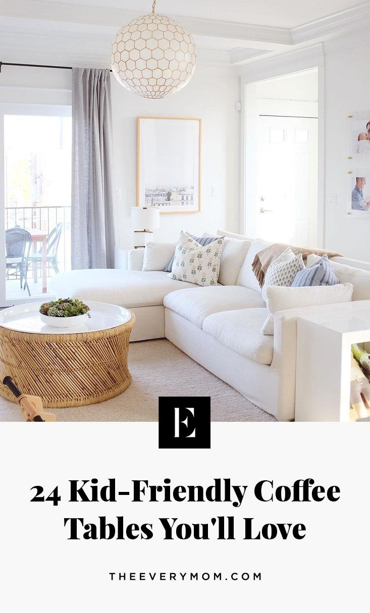 kid friendly coffee tables