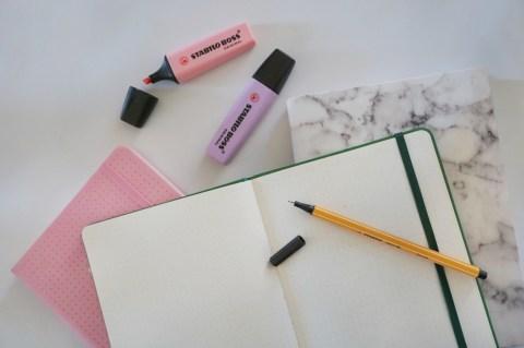 använd en bullet journal