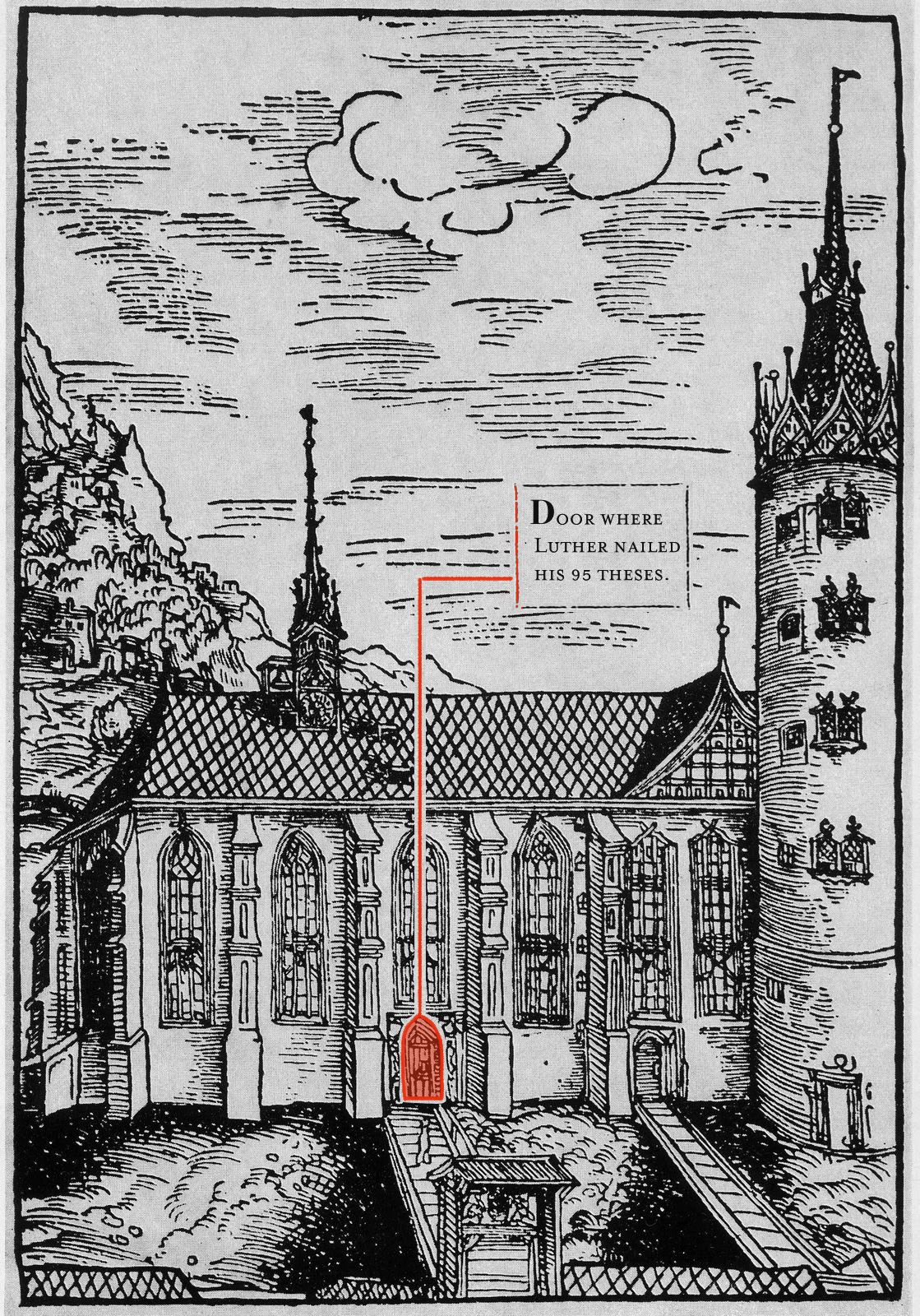 Looking At Wittenberg In The Time Of Martin Luther