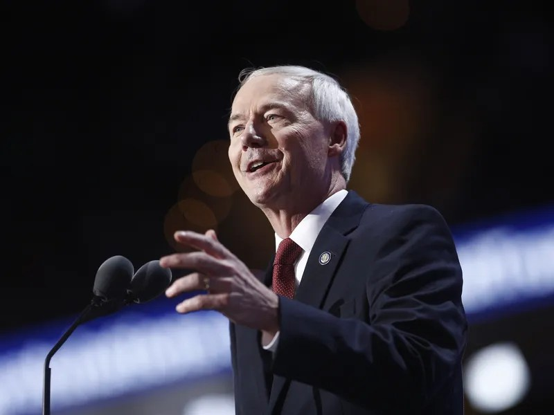 Asa Hutchinson, governor of Arkansas