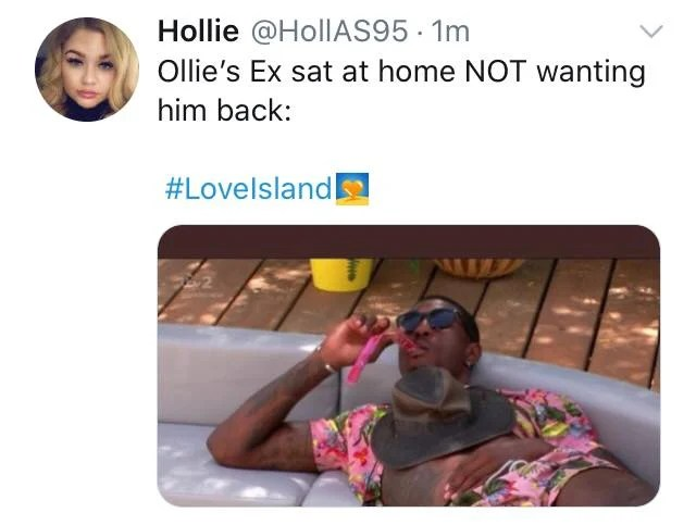 Love Island Memes The Most Savage Reactions To Ollie S Shock Exit