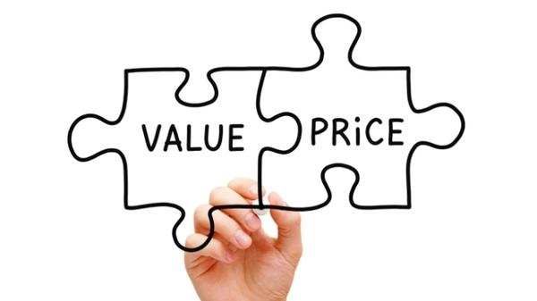 Resultado de imagen de Valor vs precio