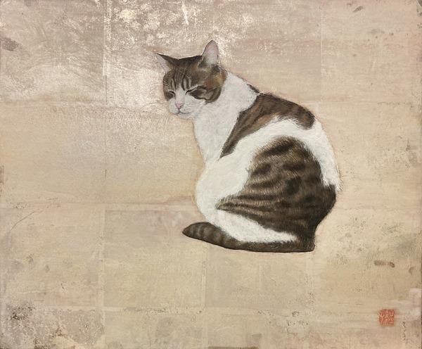 「谷中のぼち猫」