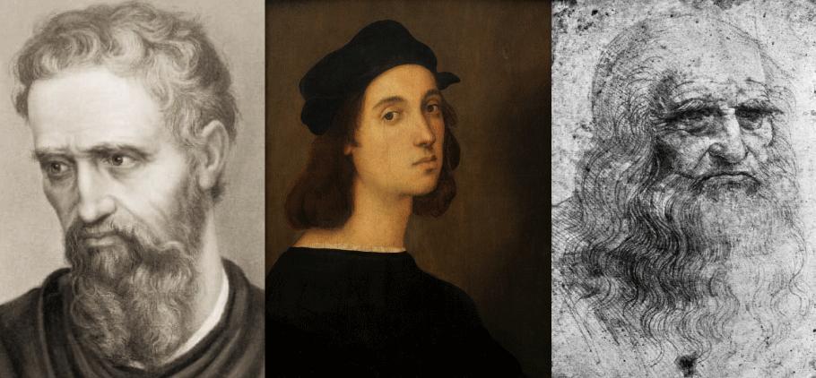 盛期ルネサンスの3大巨匠