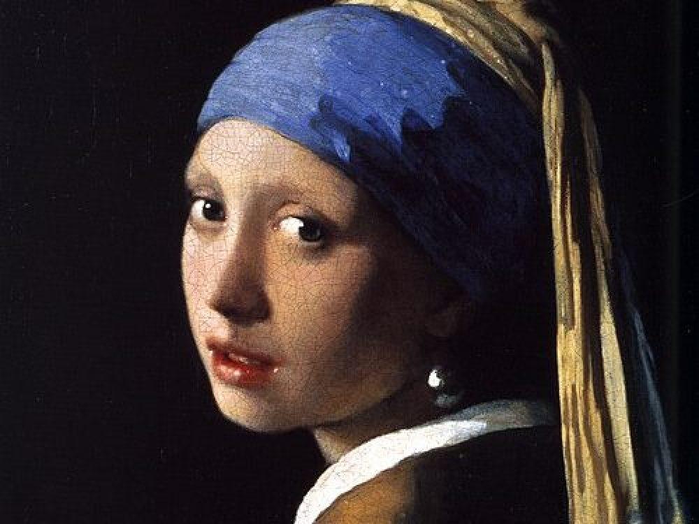 フェルメール 真珠の首飾りの少女