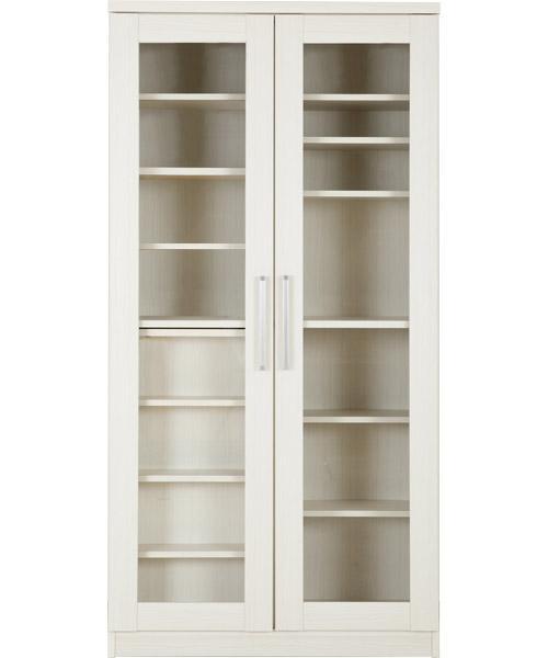 [幅90cm]スライド書棚(カルテット2