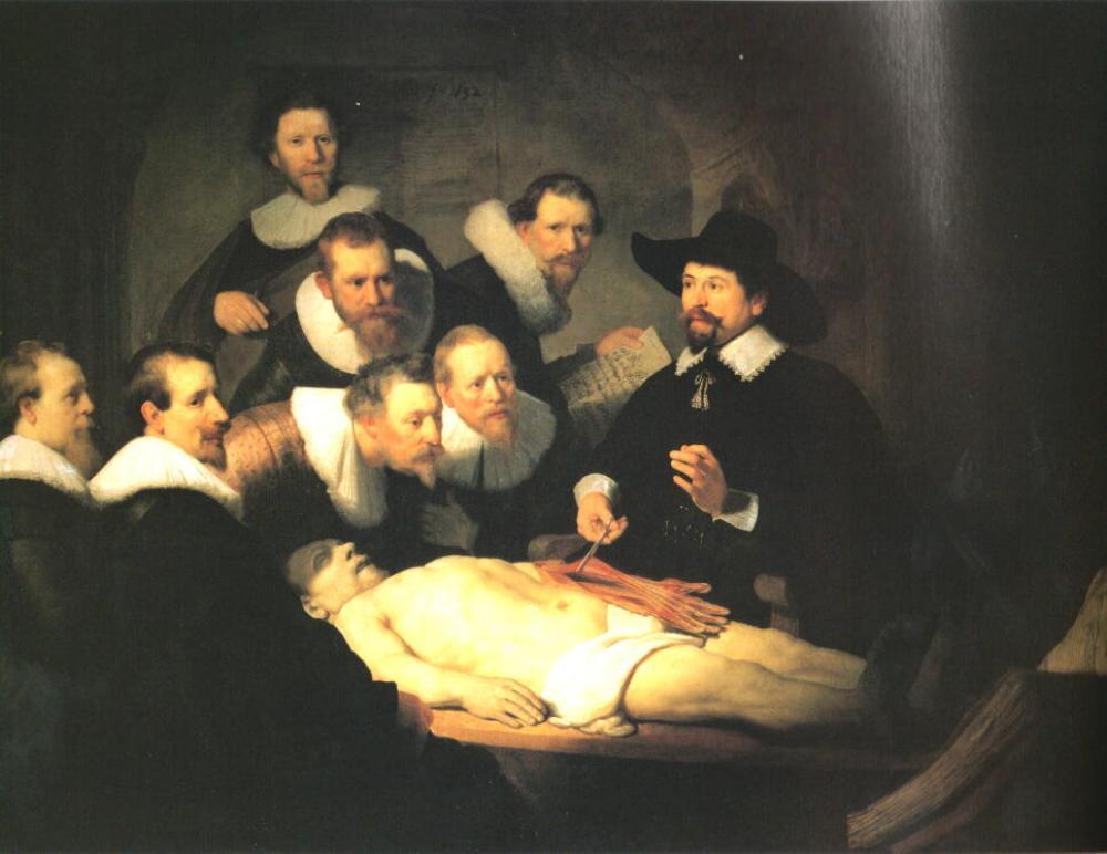 テュルプ博士の解剖学講義(1631年)