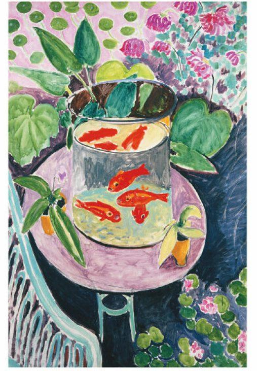 マティス 金魚