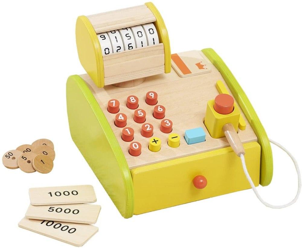 知育玩具 木製レジスター