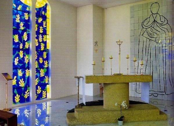 ドミニコ修道院とマティス