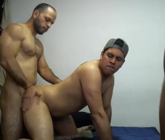 Straight Guys Fuck A Girl And Fuck Each Other On Cam