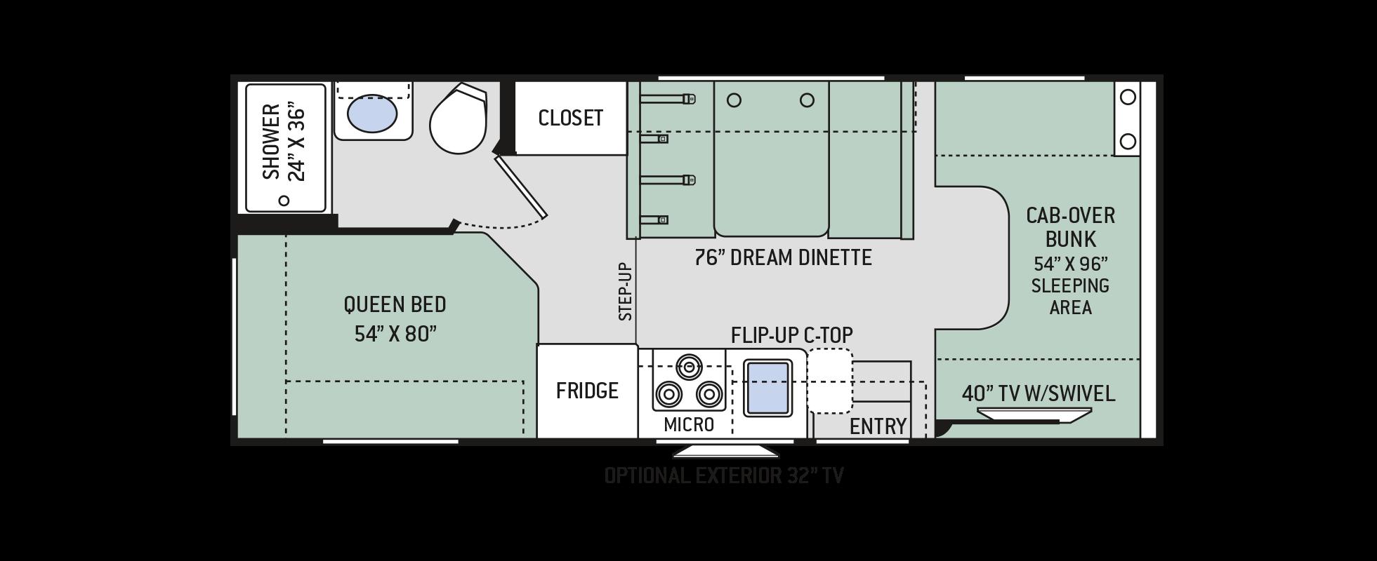 Floor Plans Chateau: 22E
