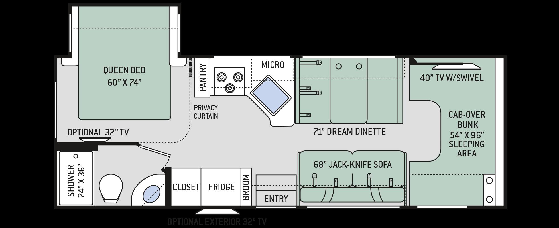 Floor Plans Chateau: 26B