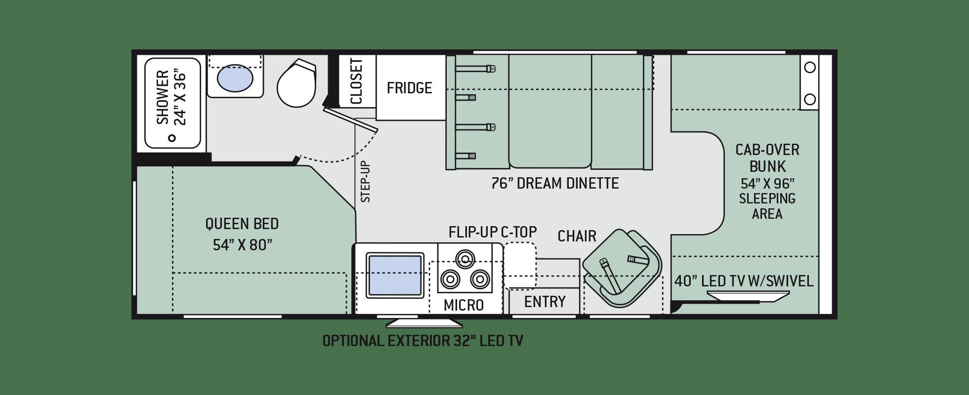 Floor Plans Chateau: 23U
