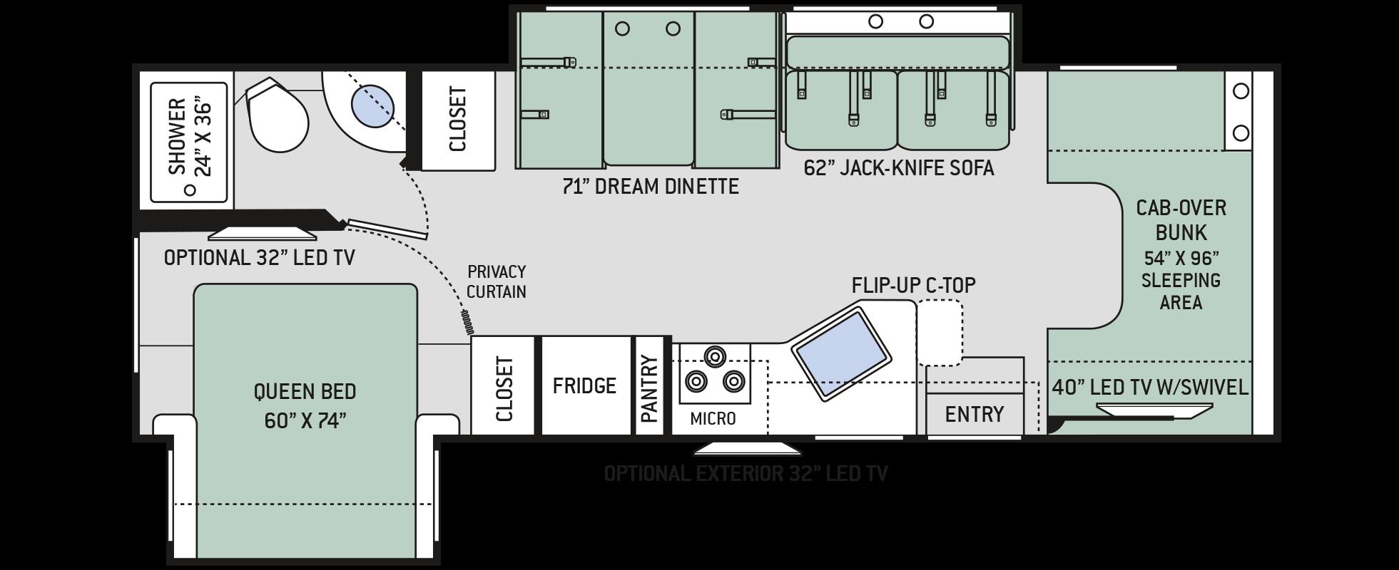 Floor Plans Chateau: 28E