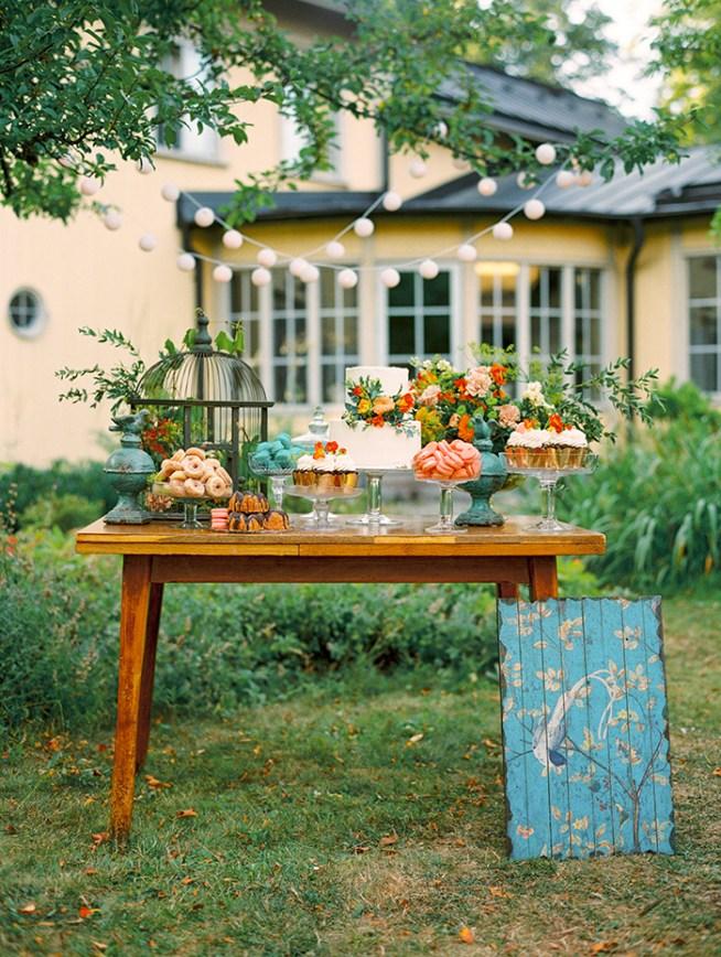 Bröllopstårta och dessertbord från Holy Sweet