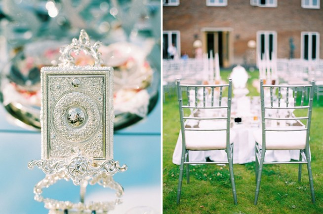Pink and Silver persian wedding