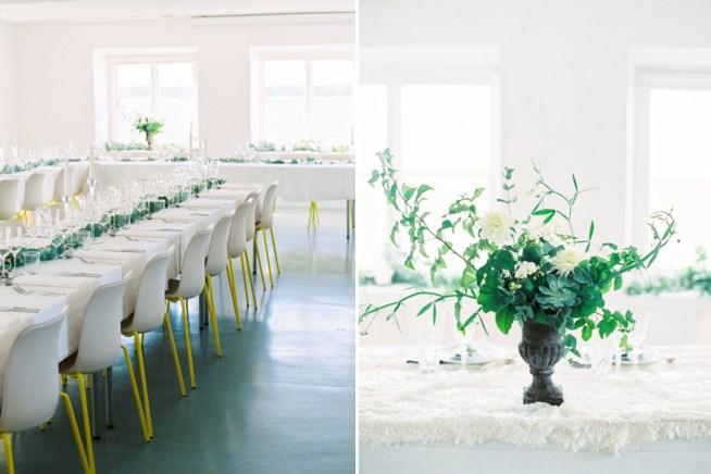 Bröllopsdukning på Ekensdal