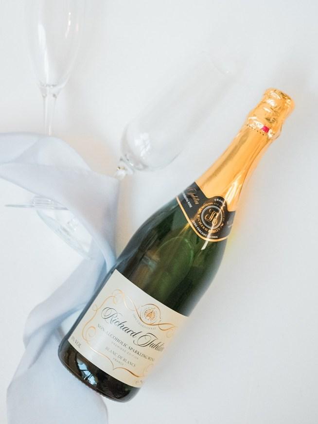 alkoholfri champagne till bröllopet
