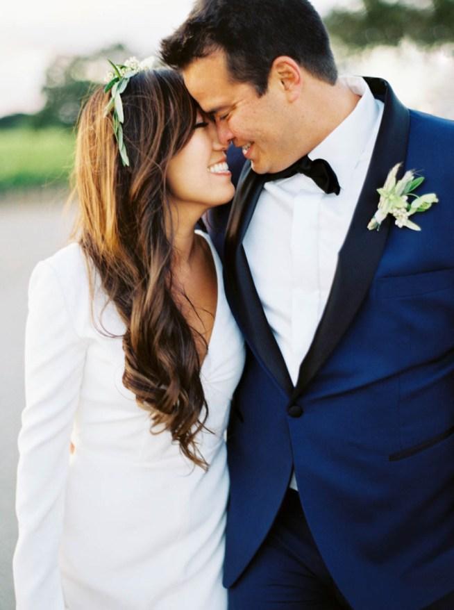 stilren brudklänning