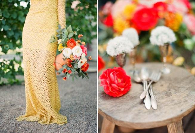 bröllopsinspiration i starka färger