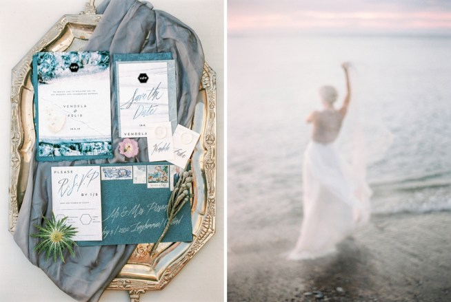 Bröllopsinspiration i dova pasteller