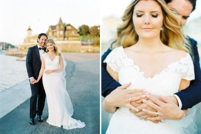 bröllopsporträtt vid havet på marstrand alicia swedenborg