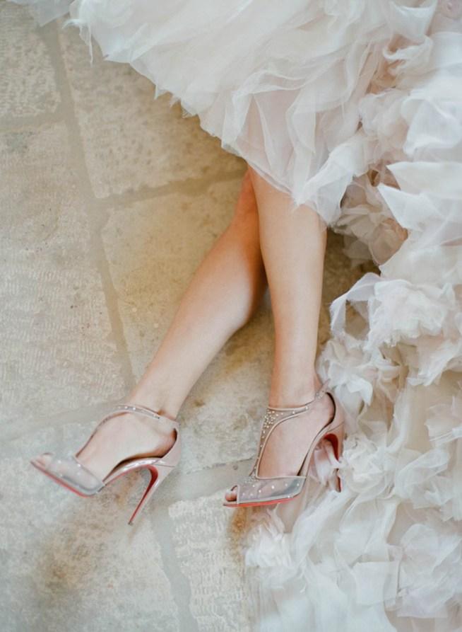 Bröllopsskor med hög klack