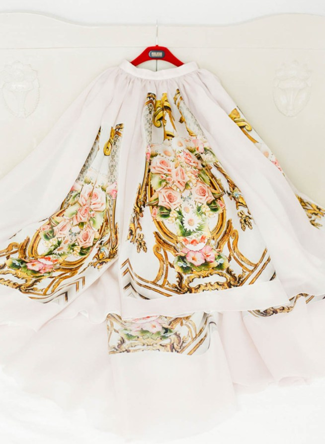 Dolce Gabbanainspirerad bröllopskjol