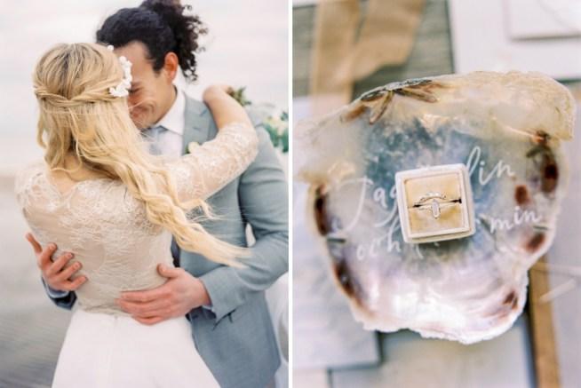 Bröllopsinspiration i neutrala toner