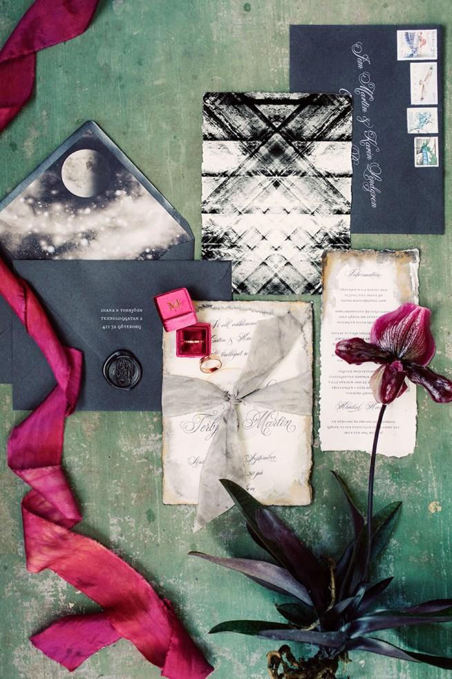 handgjorda trycksaker till bröllop elins art studio