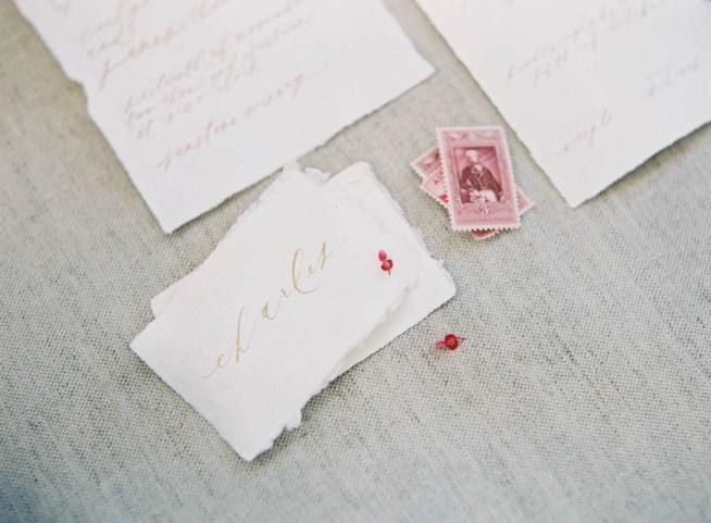 placerkort av handgjort papper