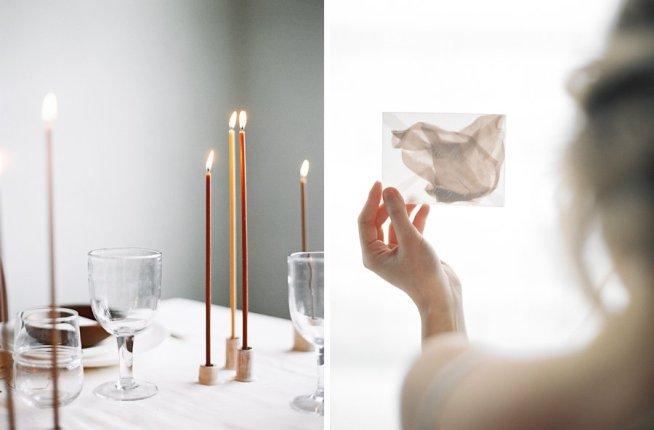 minimalistic och stilren bröllopsinspiration