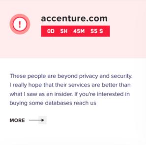 LockBit site screengrab
