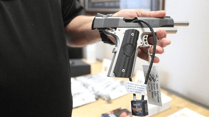 Little Rock police providing gun locks as part firearms safety education program