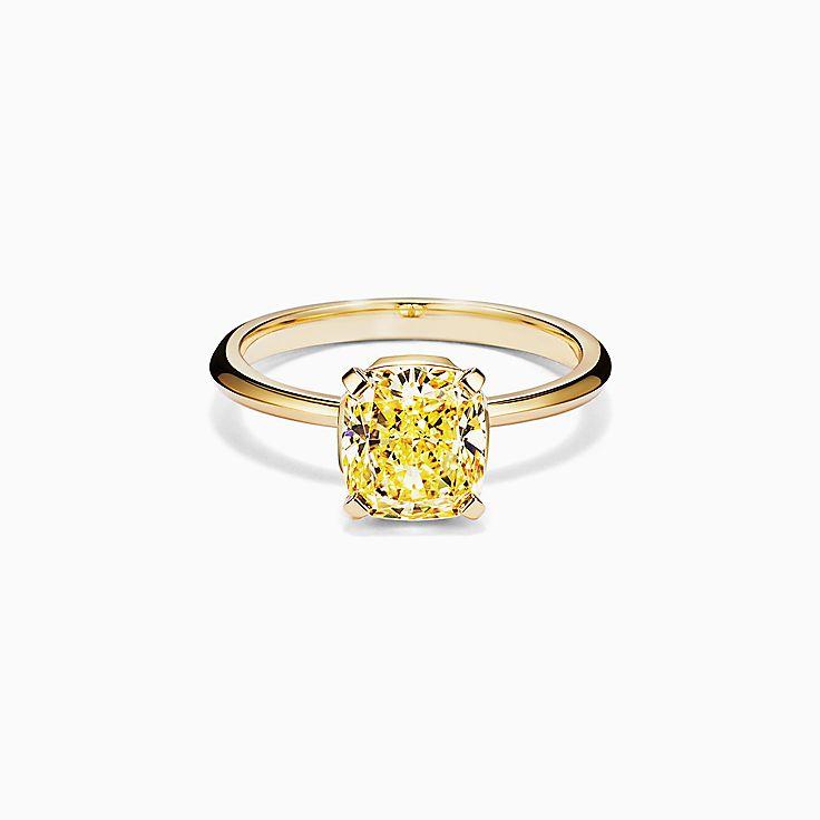 cushion cut engagement rings tiffany