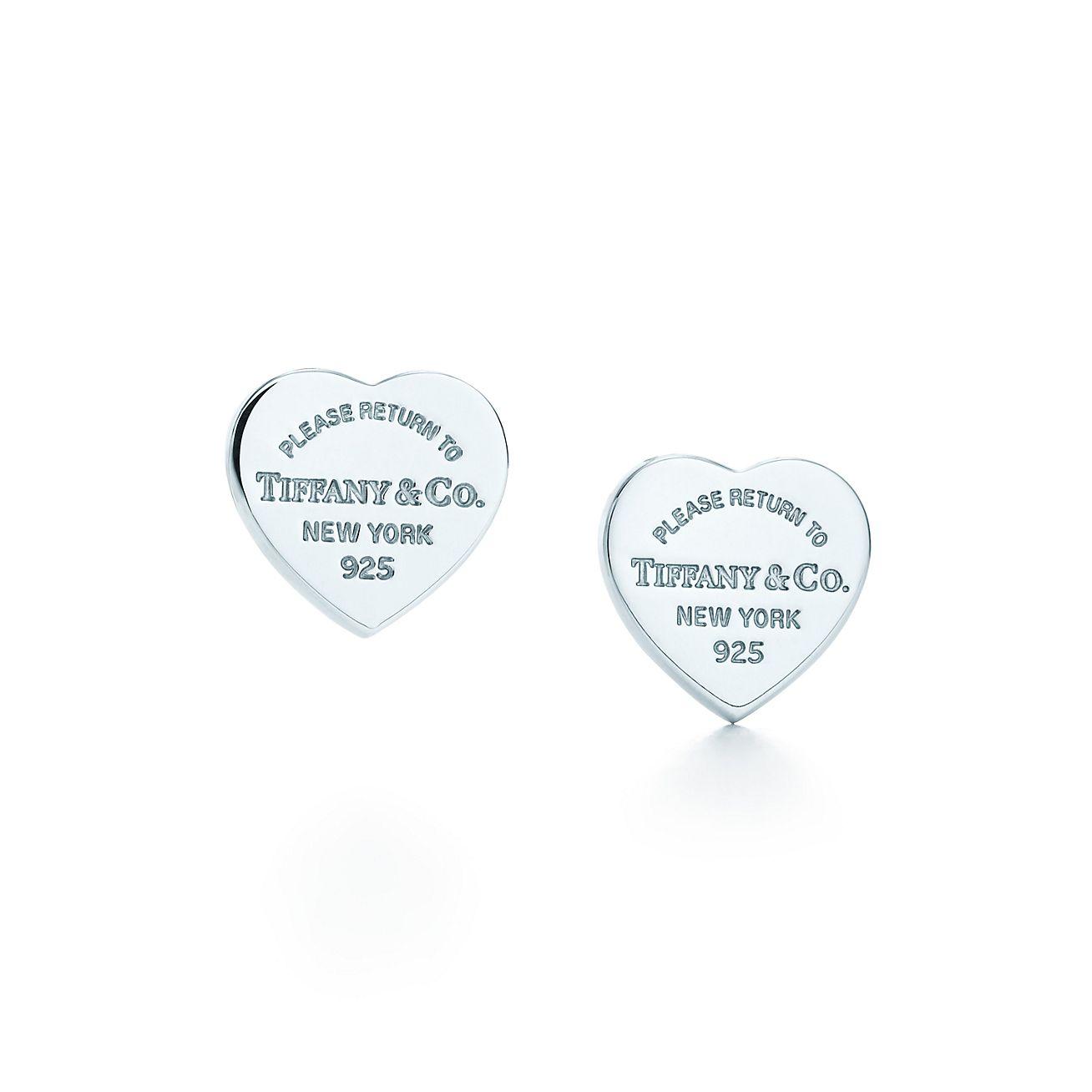 Return to Tiffany™:Mini Heart Tag Earrings
