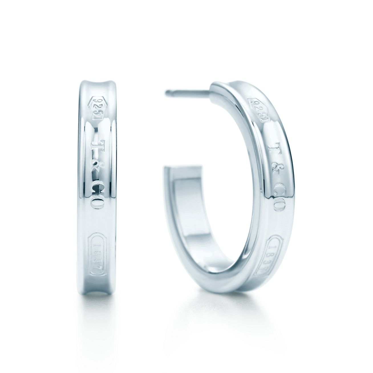 Tiffany 1837™:Hoop Earrings