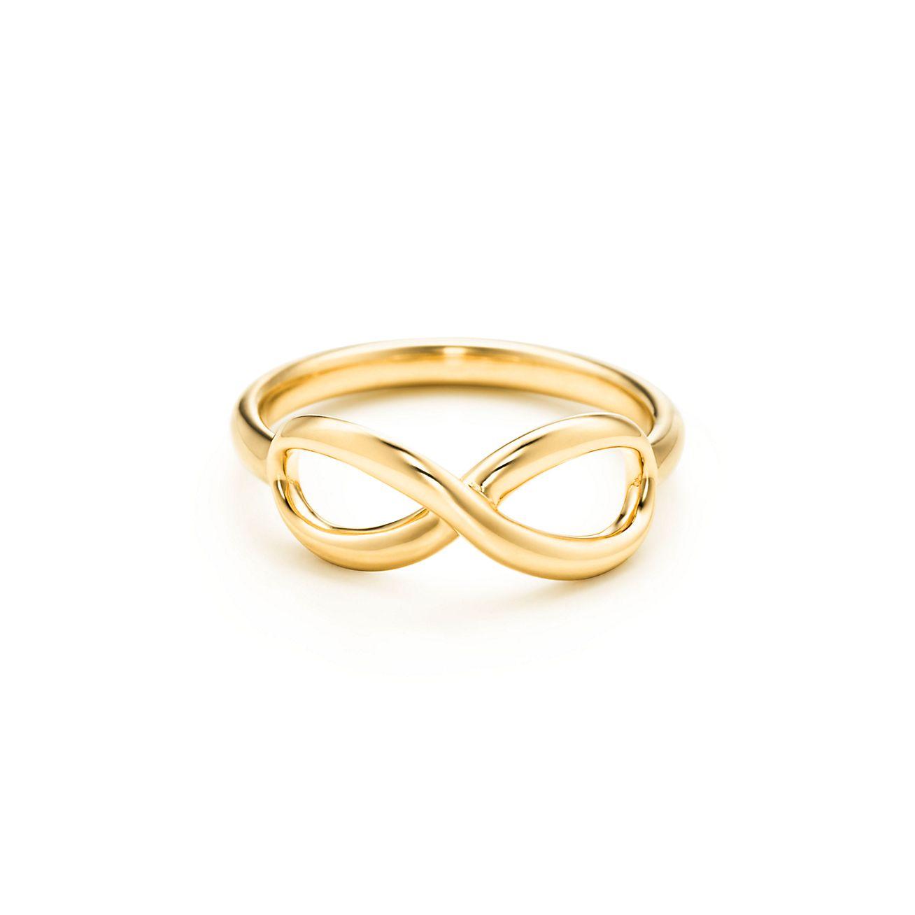 Tiffany Infinity Ring In 18k Gold Tiffany Amp Co