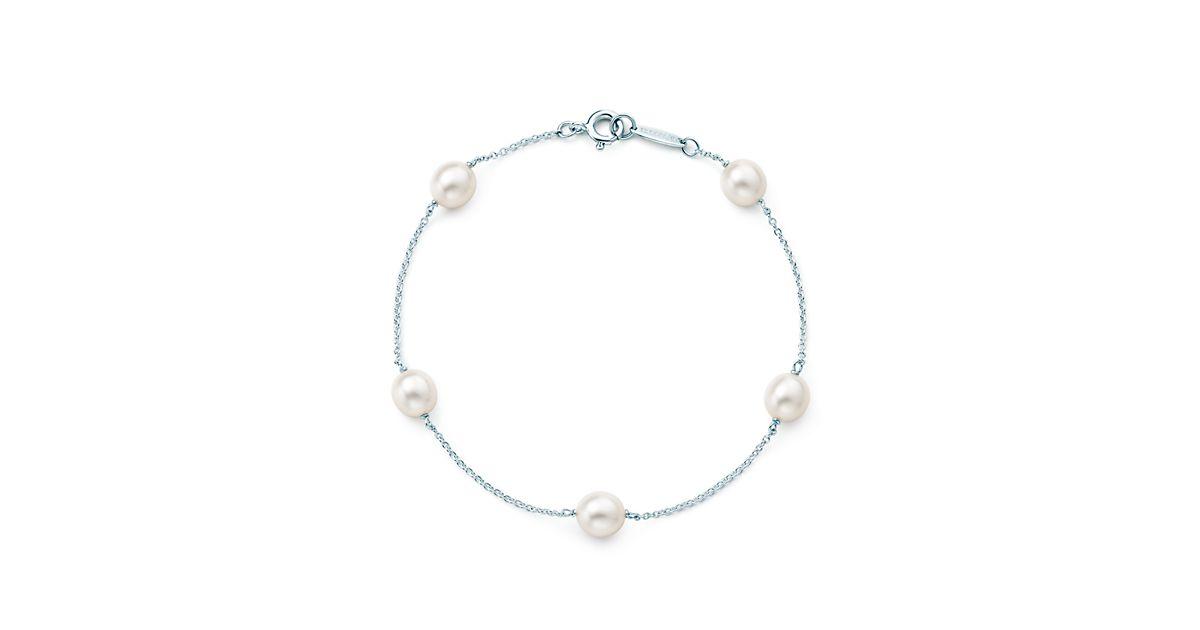 Elsa Peretti Pearls By The Yard Bracelet In Sterling
