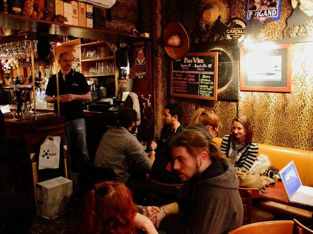 bars and pubs in quartier latin
