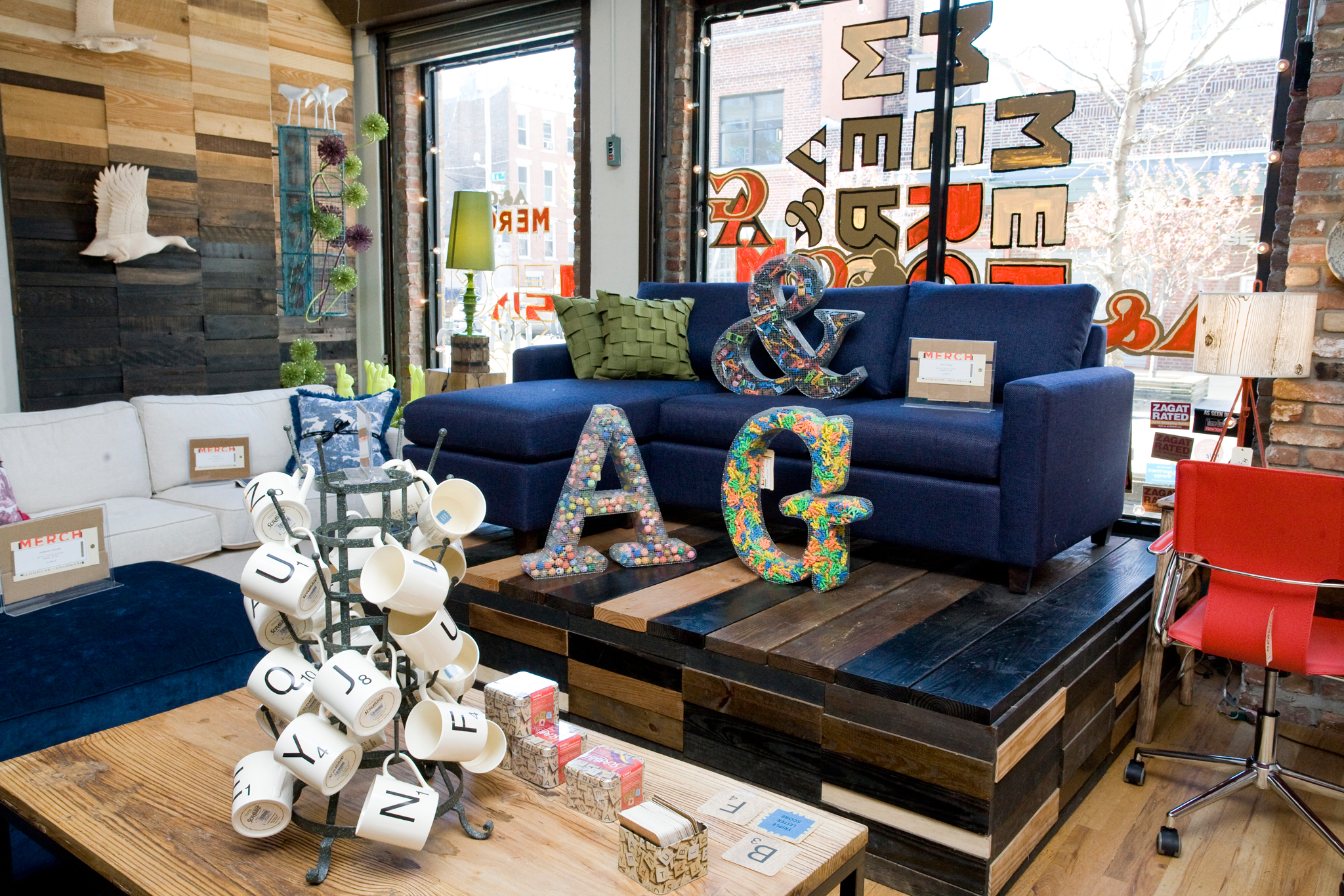 Home decor stores in NYC for decorating ideas and home furnishings A G Merch