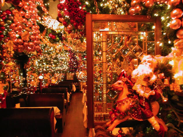 Here S Your Yearly Reminder To Go Rolf The Restaurant That Looks Like Christmas Threw Up On It